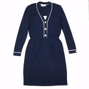 St. John Santana Knit Nautical Dress 4